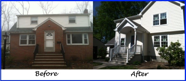Pangione developers inc before amp after photos bergen county