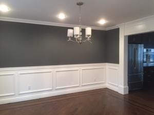 Chair Molding And Two Tone Paint Bergen County Contractors New