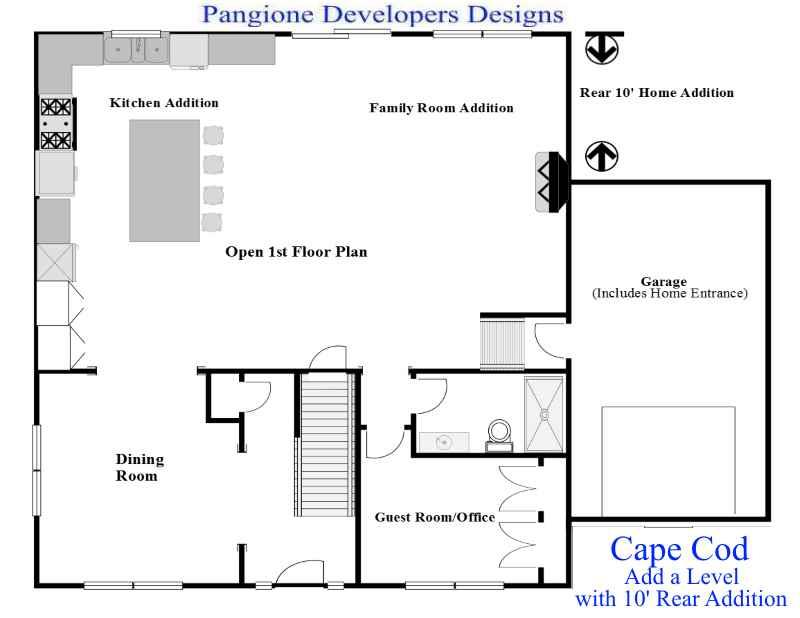 Cape Cod Add A Level 8 Bergen County Contractors New Jersey Nj