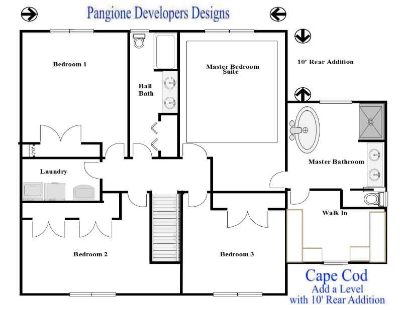 Pleasing Cape Cod Add A Level 7 Bergen County Contractors New Beutiful Home Inspiration Xortanetmahrainfo