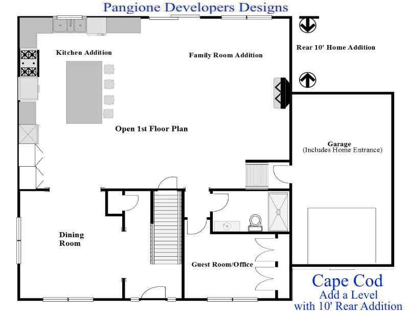Cape Cod Add A Level 8 Bergen County Contractors New Jersey Nj Contractors